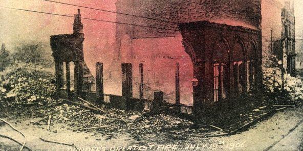 1906 Dundee fire