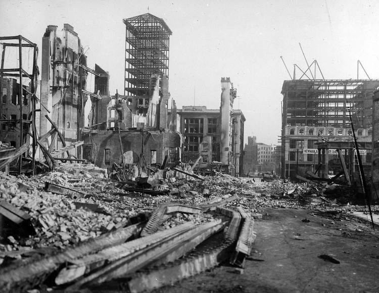 1906 San Francisco earthquake San Francisco earthquake in 1906 Three rare films reveal before