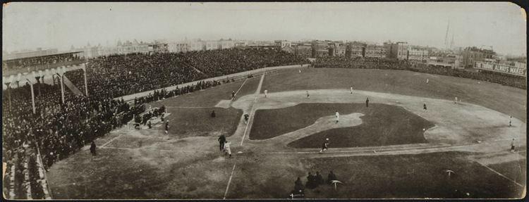 1906 World Series FileWest Side Grounds 1906 World Seriesjpg Wikimedia Commons