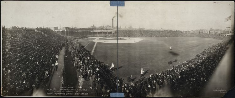 1906 World Series 1906 World Series game at West Side Park in Chicago Digital