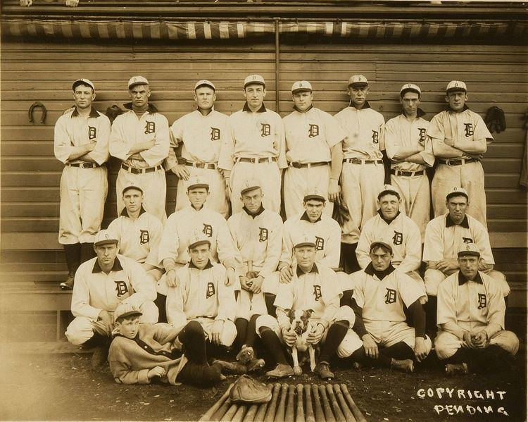 1907 Detroit Tigers season