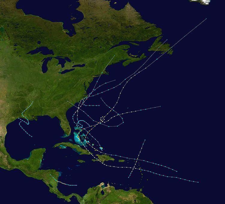 1908 Atlantic hurricane season