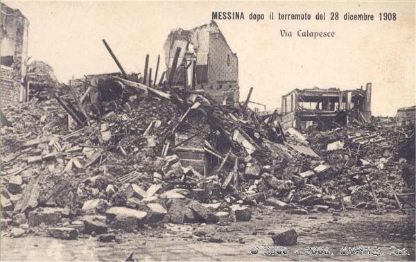 1908 Messina earthquake Messina Italy Earthquake of 28 December 1908 Mw71
