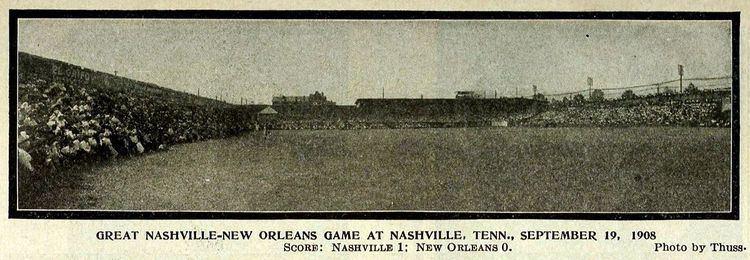 1908 Nashville vs. New Orleans baseball game