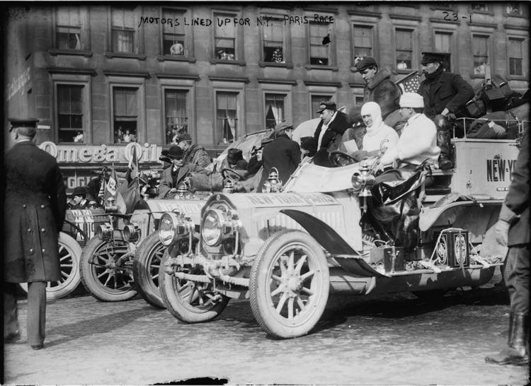 1908 New York to Paris Race