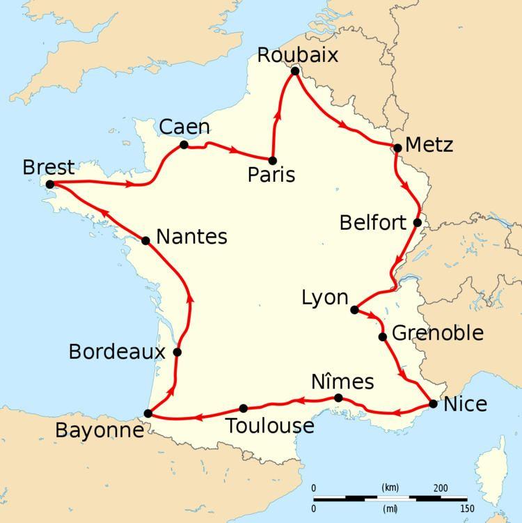 1908 Tour de France