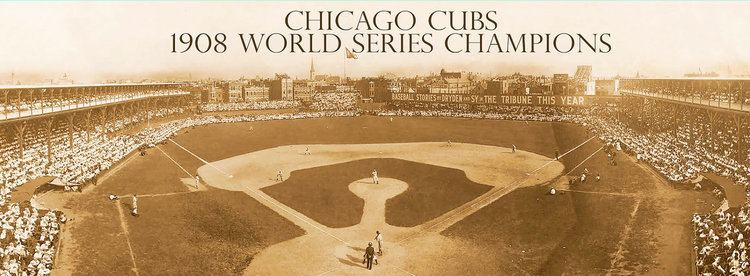 1908 World Series Chicago Cubs 1908 World Series Champions by HolyCowCanvas on Etsy
