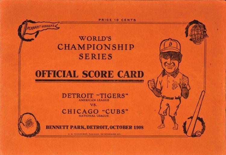 1908 World Series 1908 World Series Wikipedia