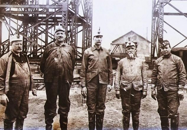 1909 Cherry Mine disaster 1910 Unsealing of the Cherry Mine Illinois State Mine Insp Flickr