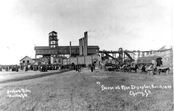 1909 Cherry Mine disaster Cherry Mine Disaster