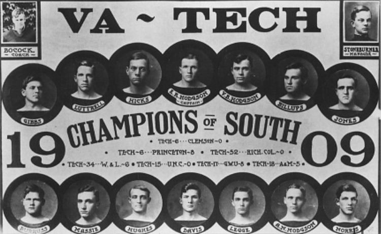 1909 VPI football team