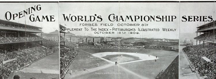1909 World Series 1909 World Series Opening Game Panoramic Photograph Supplement