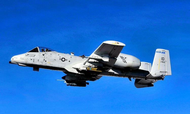 190th Fighter Squadron File190th Fighter Squadron Fairchild Republic A10A Thunderbolt