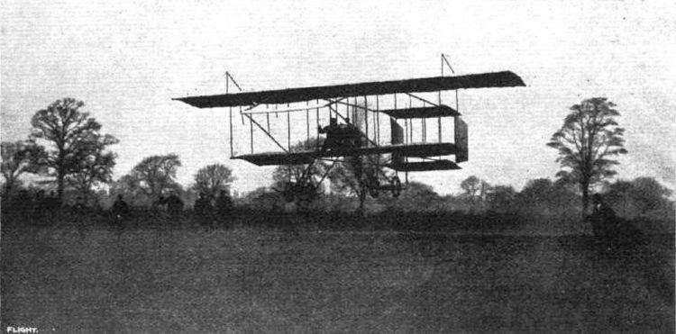1910 London to Manchester air race