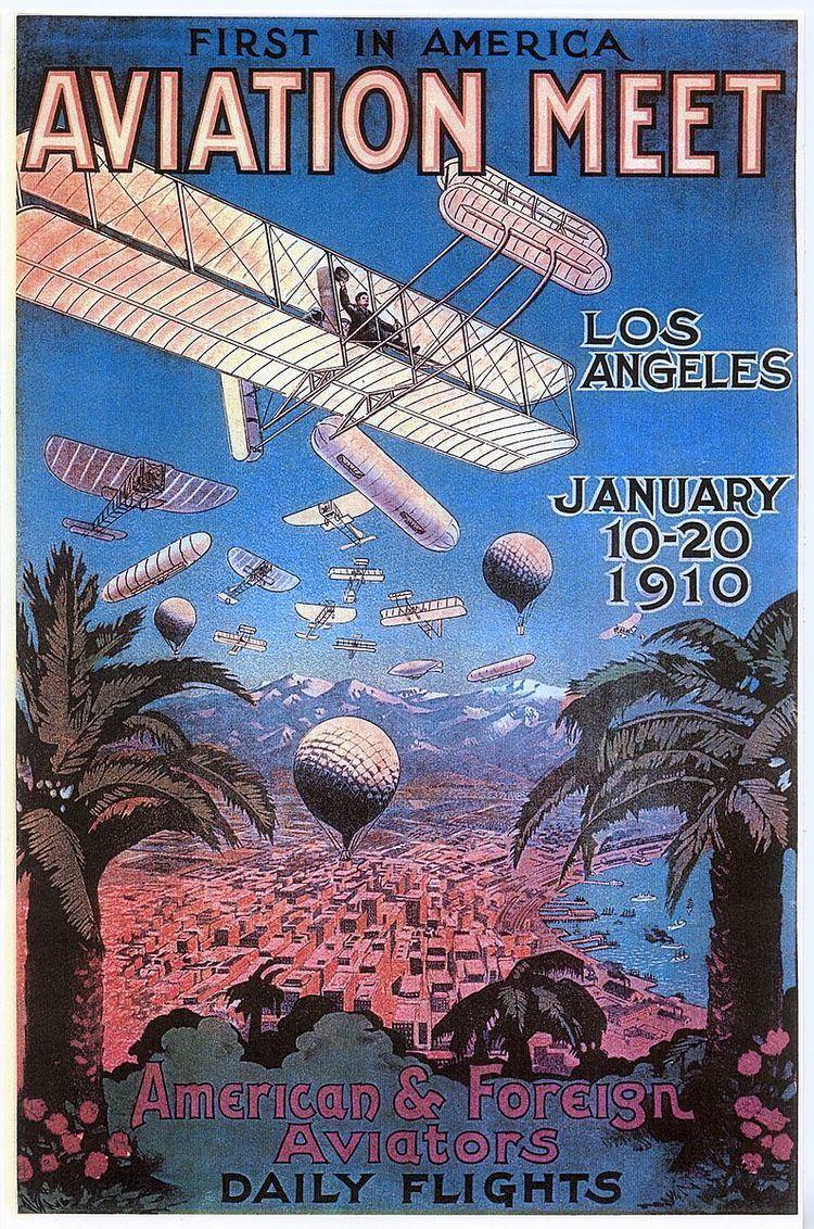 1910 Los Angeles International Air Meet at Dominguez Field
