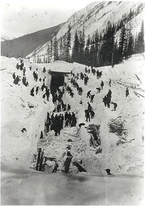 1910 Rogers Pass avalanche httpsuploadwikimediaorgwikipediacommonsthu