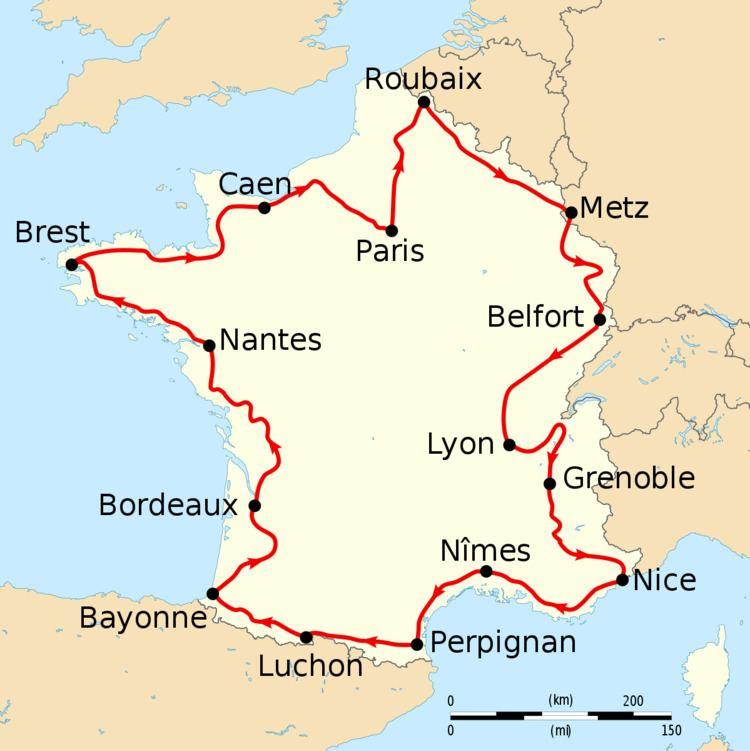 1910 Tour de France