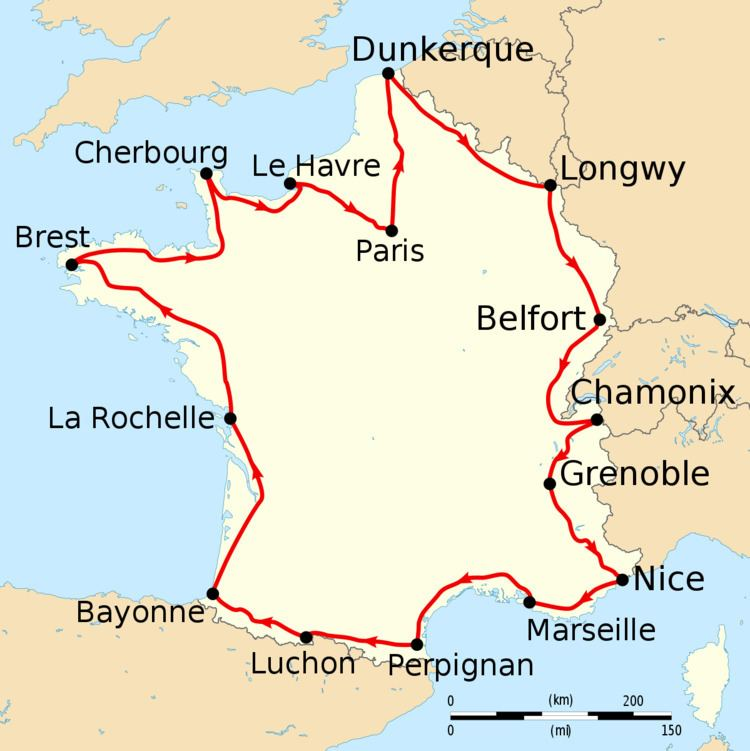 1911 Tour de France, Stage 1 to Stage 8