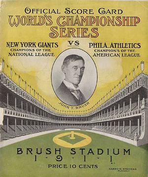 1911 World Series httpsuploadwikimediaorgwikipediacommonsthu