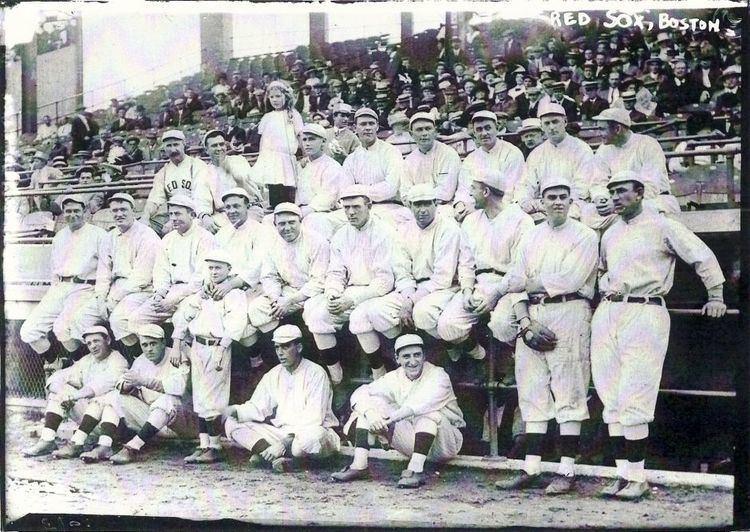 1912 Boston Red Sox season wwwchautauquasportshalloffameorgimages1912RedS