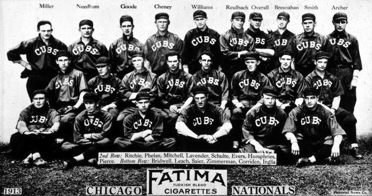 1913 Chicago Cubs season