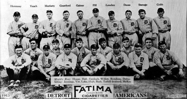 1913 Detroit Tigers season