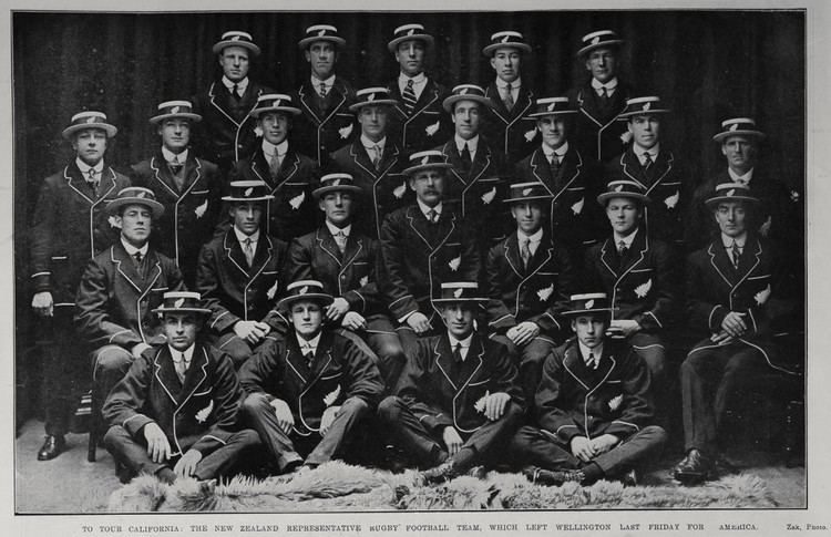 1913 New Zealand rugby union tour of North America