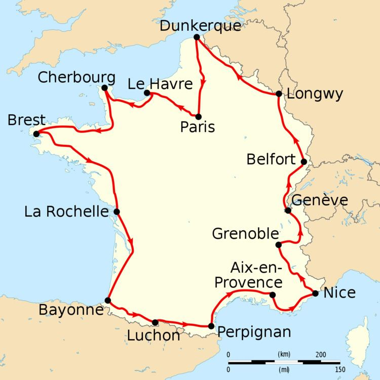 1913 Tour de France, Stage 9 to Stage 15