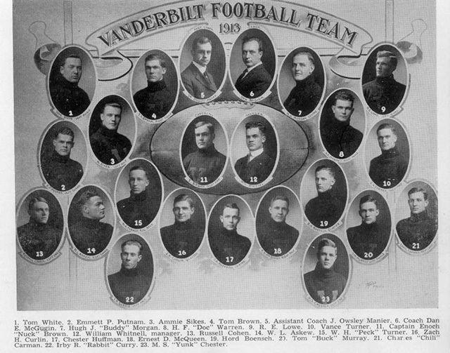 1913 Vanderbilt Commodores football team