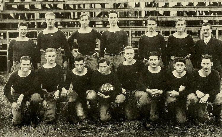1914 Tulane Olive and Blue football team