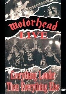 1916 Live...Everything Louder than Everything Else httpsuploadwikimediaorgwikipediaenee0191