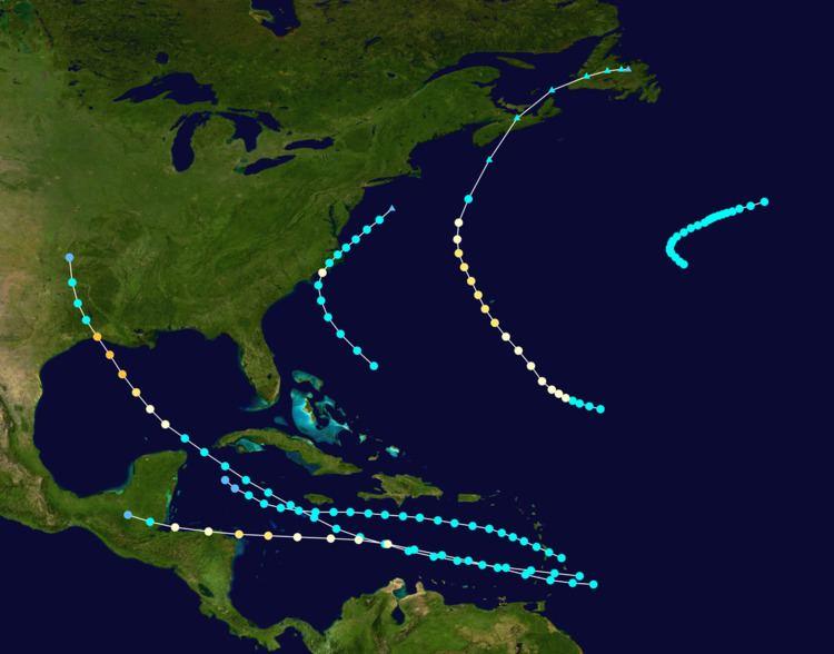 1918 Atlantic hurricane season
