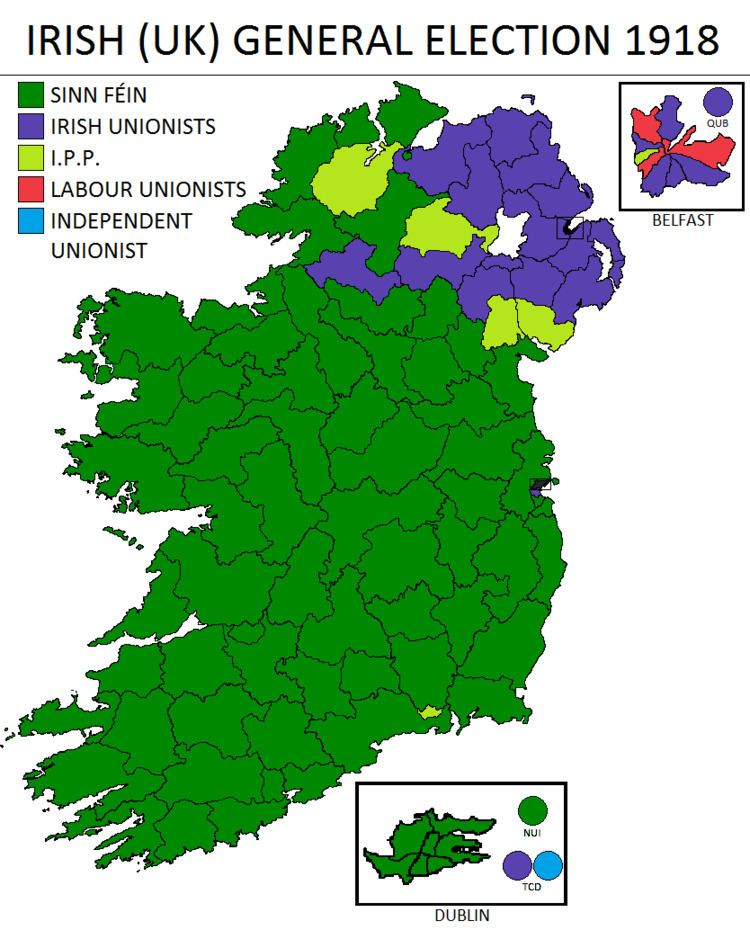 1918 in Ireland
