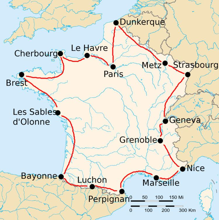 1919 Tour de France, Stage 1 to Stage 8