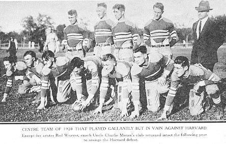 1920 Centre Praying Colonels football team