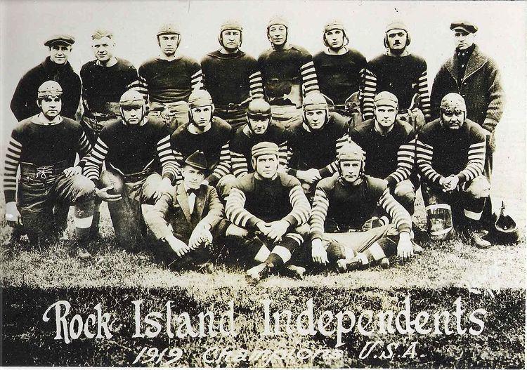 1920 Rock Island Independents season