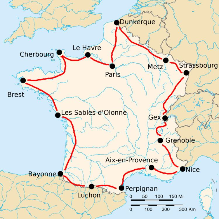 1920 Tour de France, Stage 1 to Stage 8