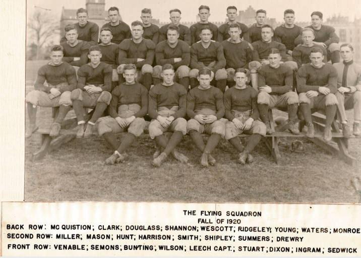 1920 VMI Keydets football team
