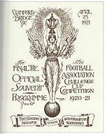 1921 FA Cup Final httpsuploadwikimediaorgwikipediaenthumb7