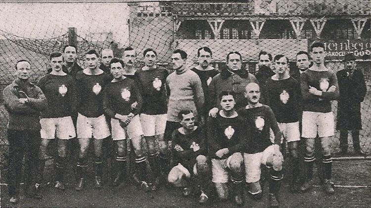 1921 Hungary v Poland football match