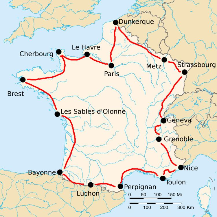 1921 Tour de France, Stage 1 to Stage 8