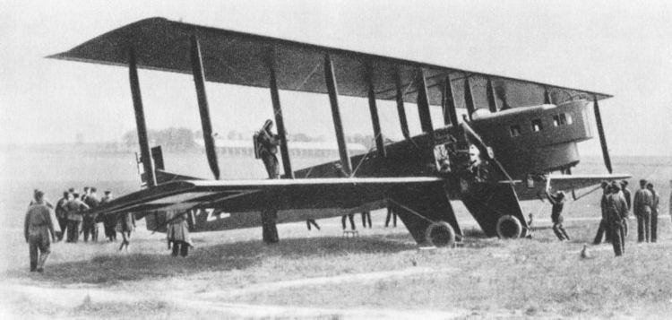1922 Picardie mid-air collision