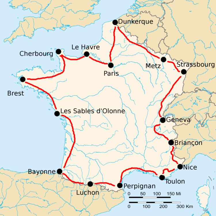 1923 Tour de France, Stage 1 to Stage 8