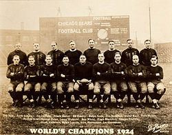 1924 Chicago Bears season httpsuploadwikimediaorgwikipediacommonsthu