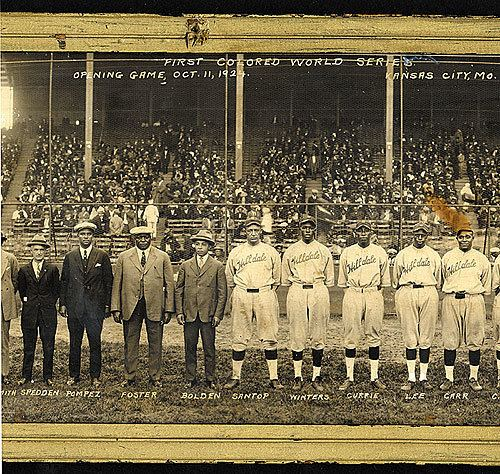1924 Colored World Series wwwrobertedwardauctionscomauction2011spring1