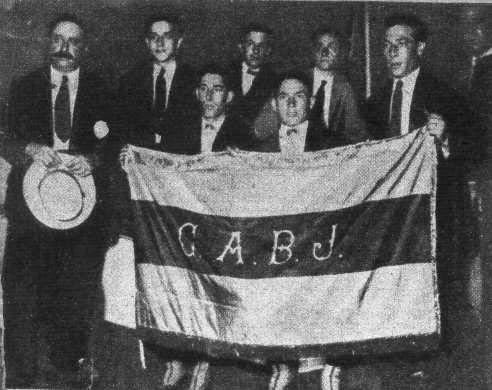 1925 Boca Juniors tour to Europe