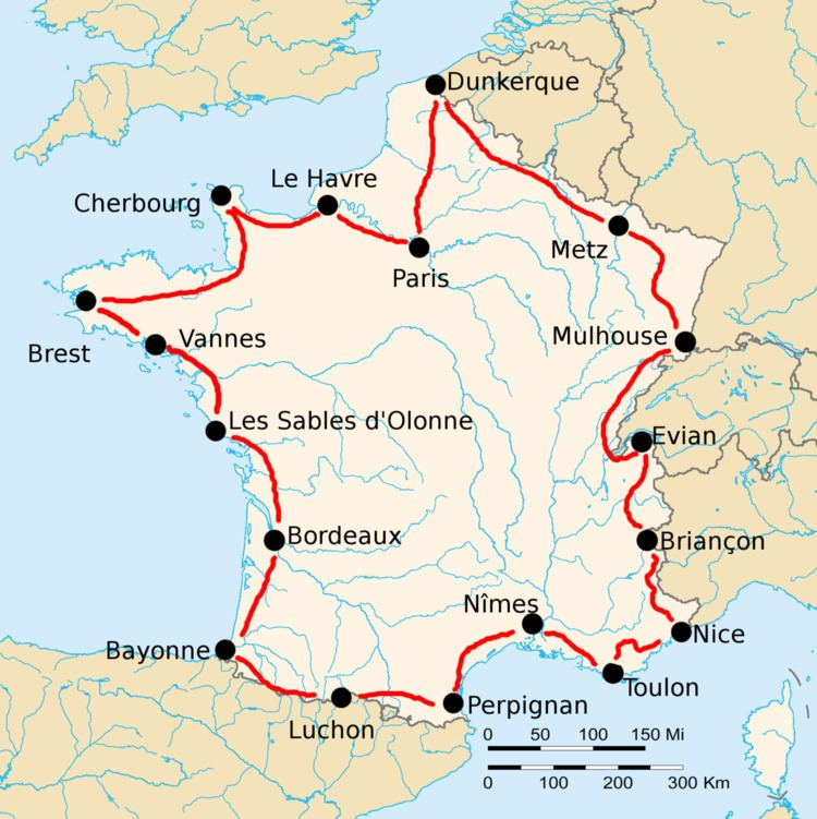 1925 Tour de France, Stage 1 to Stage 9