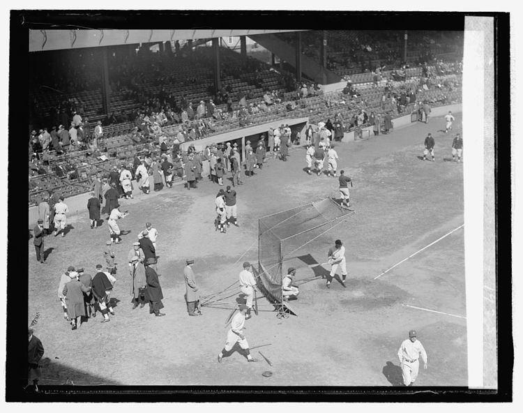 1925 World Series 1925 World Series batting practice Pirates vs Senators baseball