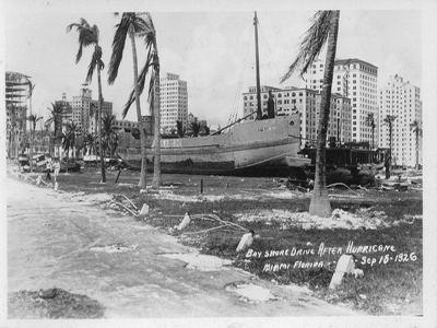 1926 Miami hurricane Hurricanes Science and Society 1926 Great Miami Hurricane