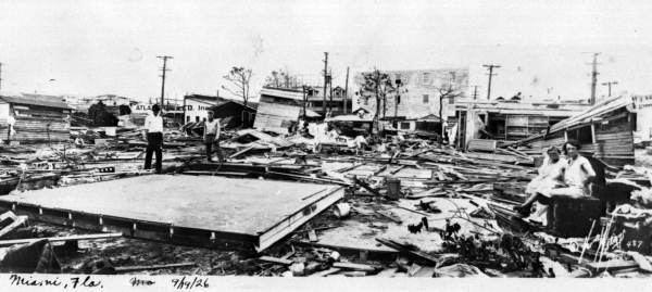 1926 Miami hurricane Great Miami Hurricane of 1926